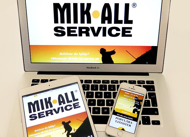 Mik ALL Service finns på sociala medier, följ oss gärna där